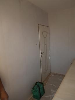 Wände verspachtelt