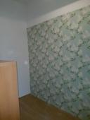 Wand tapeziert